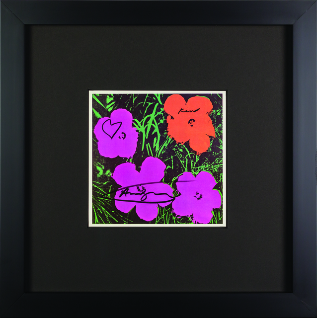 "Andy Warhol, 'Vintage Lithograph ""Flowers"" pink tone', Rudolf Budja Gallery"