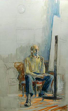 , 'Painter at Work #3,' , Bau-Xi Gallery
