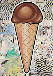 Donald Baechler, 'Chocolate Cone,' 2007, Phillips: Evening and Day Editions (October 2016)