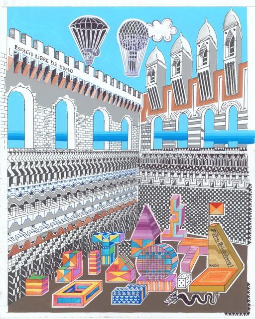 , 'Espacio libre de humo,' 2016, MAIA Contemporary