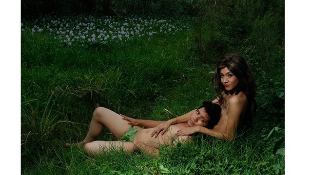 Nelson Morales, 'Adam and Eve ', 2016, Photography, Archival pigment print on metallic paper, Monica King Projects