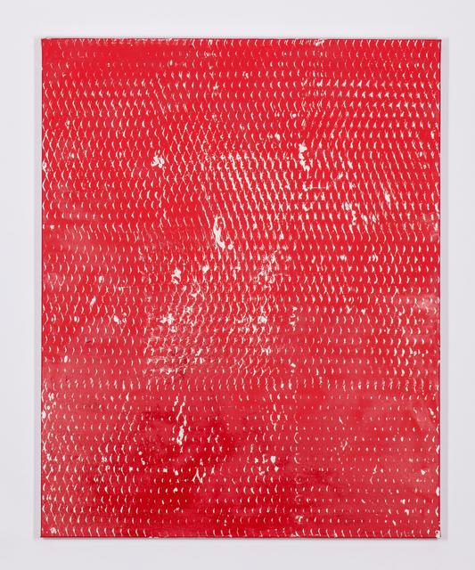 , 'Expanded Metal Painting 15,' 2017, Galerie Nikolaus Ruzicska