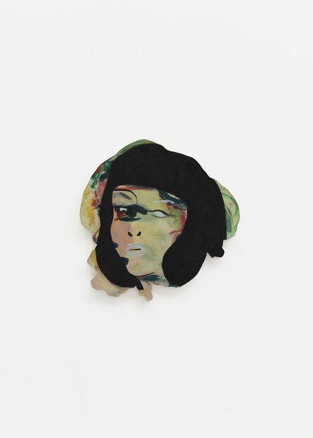 , 'Double Portrait (black hair),' 2018, CFHILL
