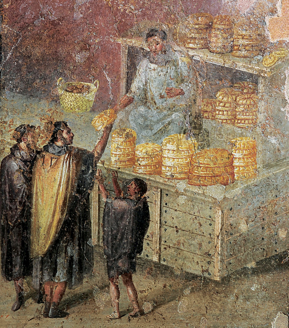 , 'Fresco of the distribution of bread,' , Montreal Museum of Fine Arts