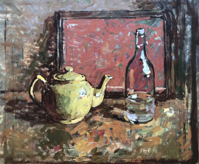 , 'Yellow Teapot,' 2019, Grenning Gallery