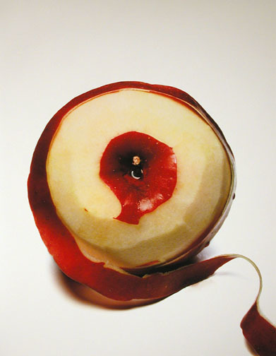 , 'Peeled Apple, New York,' 2001, HackelBury Fine Art