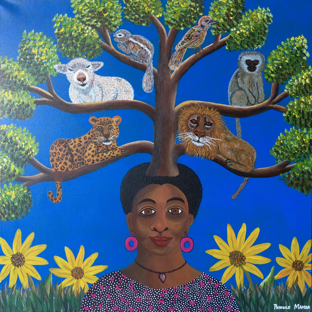 Phindile Mamba, 'Mother of great and small', 2019, Yebo Art Gallery