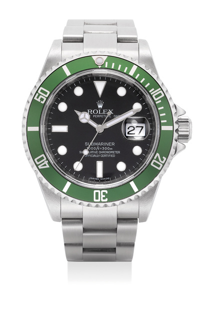 Rolex, 'An attractive stainless steel wristwatch with date, bracelet and guarantee', 2007, Phillips
