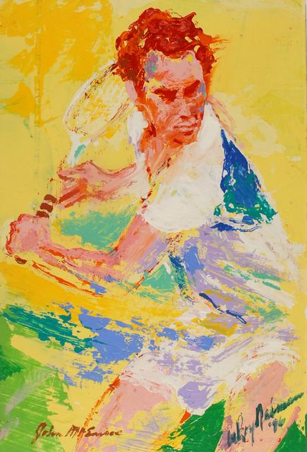LeRoy Neiman, 'John McEnroe', 1989, Eric Firestone Gallery