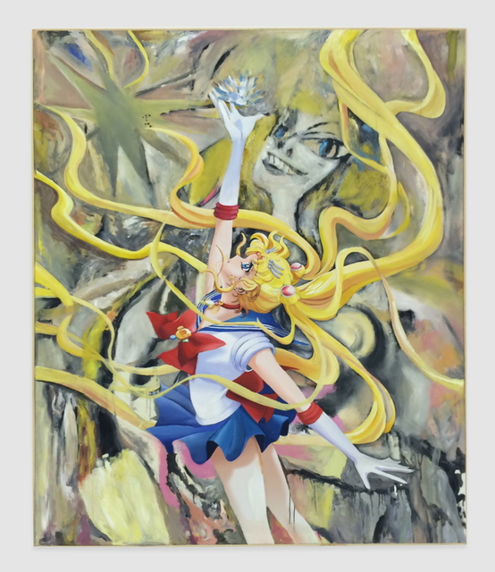 , 'From the DeMooning series (Sailor Moon with Crystal),' 2015, The Hole