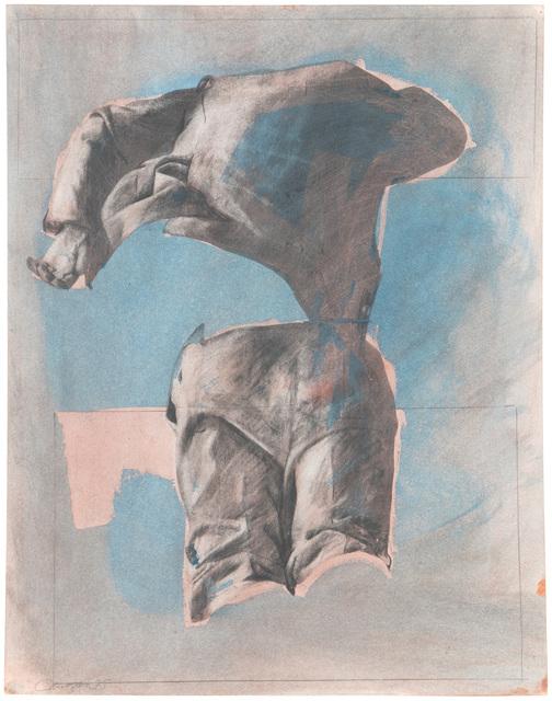 Rafael Canogar, 'Composición No. 4', 1975, Mixed Media, Mixed media on card, John Moran Auctioneers