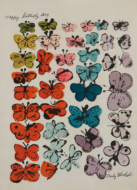 Andy Warhol, 'Happy Butterfly Day', 1955, Phillips