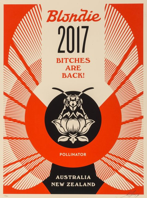 Shepard Fairey, 'Bitches are Back!', 2017, Heritage Auctions