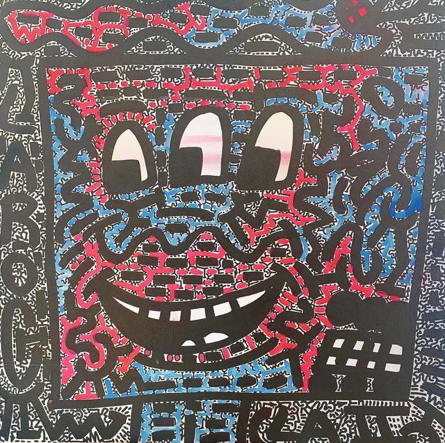 LA II (Angel Oritz), 'Three-Eyed Face', ca. 2001, Lawrence Fine Art