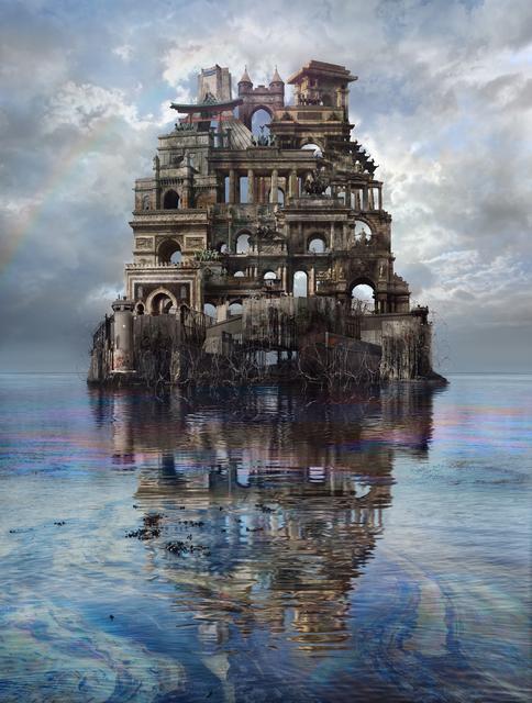 , 'A las puertas del mundo/At the gates of the world,' 2017-2018, Aura