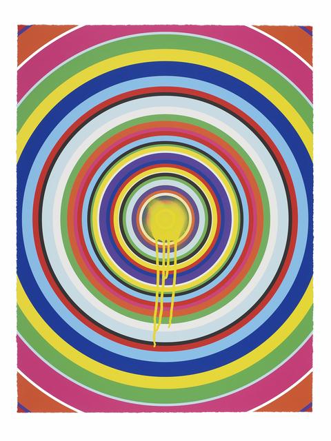 Jim Lambie, 'Sunspots (Yellow)', 2018, Carolina Nitsch Contemporary Art