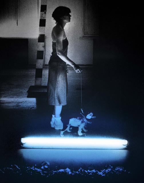 """Silvia Lelli, 'Neon collection / Neon installation, M.P, T.I. n° 2/3, Maniac Production, """"Tragico intervallo n.2"""" Bologna, Galleria d'Arte Moderna, 1978', 1978,  29 ARTS IN PROGRESS gallery"""