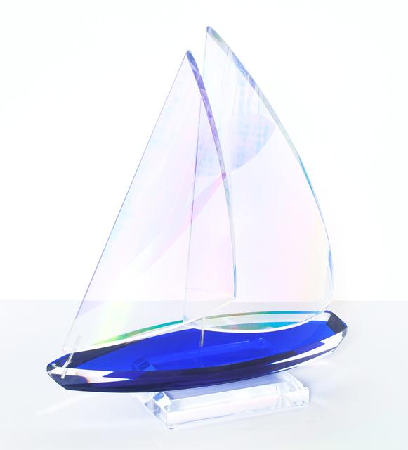 Will Grant, 'Monaco Sailboat - Acrylic Blue', 2016, Blue Gallery