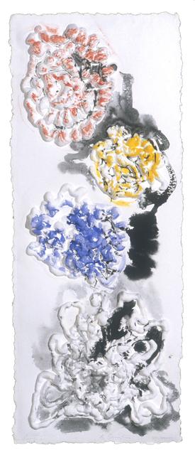 , 'Color Echoes,' 2001, Mixografia