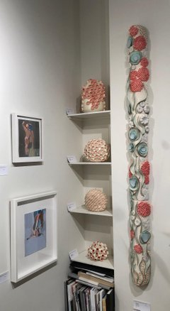 Jane B. Grimm, 'Coral Reef  II / Sea Inspired Ceramic Wall Sculpture', 2012, Andra Norris Gallery