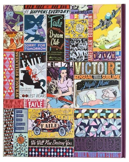 FAILE, 'FAILE Works on Wood Artist Book Wooden Cover', 2014, Vroom & Varossieau