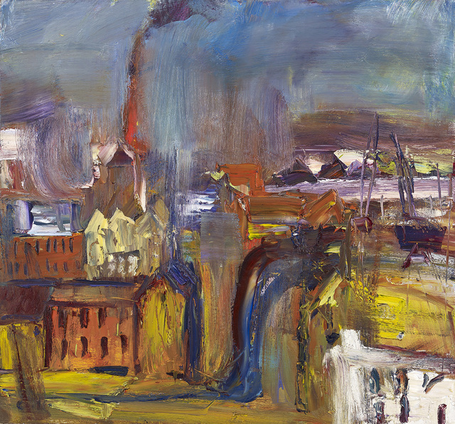 , 'Sheets of Rain Coming in,' , The Scottish Gallery