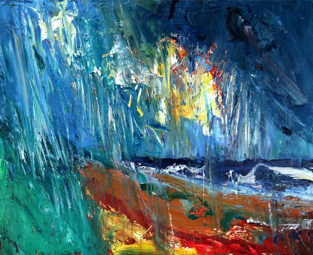 , 'Rain Lashing Down,' , The Scottish Gallery