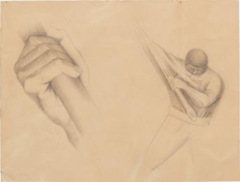 Hombre y mano