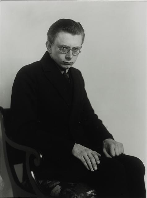 August Sander, 'Student of Philosophy [Erich Sander], 1926', Galerie Julian Sander