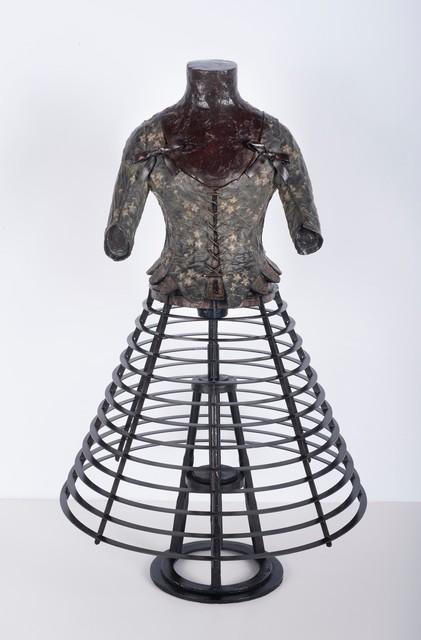 , 'Corset avec cerceaux plats,' 2016, Galerie de Bellefeuille