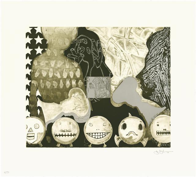 Jasper Johns, 'Shrink Dink 4', 2011, Universal Limited Art Editions