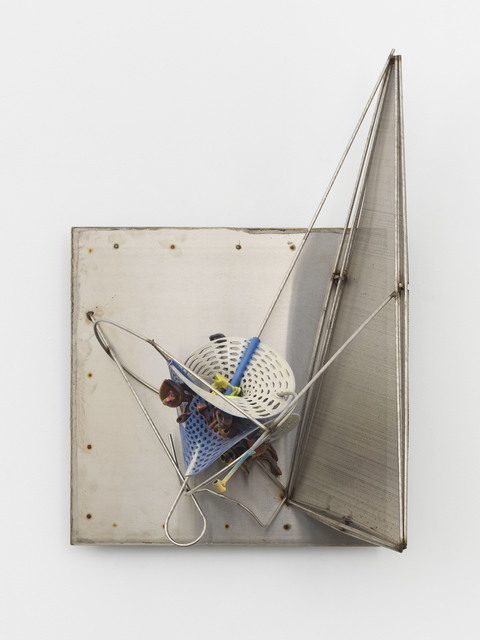 , 'K.505 on Stainless Background,' 2015, Marianne Boesky Gallery