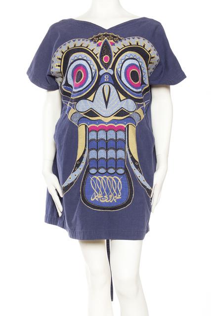 , 'Kansai Yammamoto Japanese Mask Wrap Dress,' 1980's, Morphew