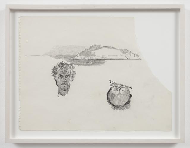 , 'Untitled (self-portrait, tomato, island),' 1970, Mai 36 Galerie