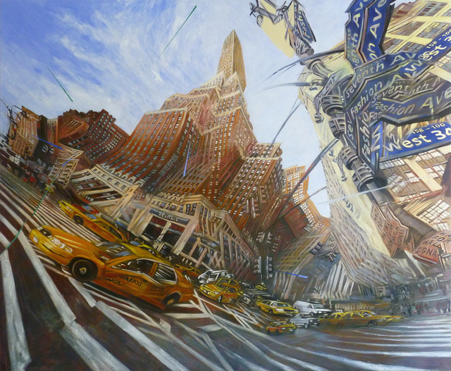 Matthew Carver, '34th and 7th ', 2011, Christopher Cutts Gallery