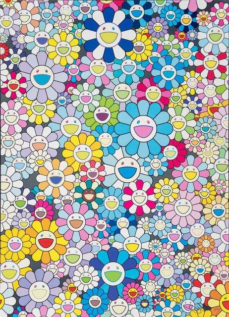 Takashi Murakami, 'Champagne Supernova: Blue', 2013, Heritage Auctions