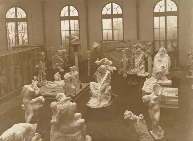 , 'Vue d'ensemble de Pavillon de l'Alma à Meudon (View of Alma Pavillon at Meudon),' 1904-1905, Musée Rodin