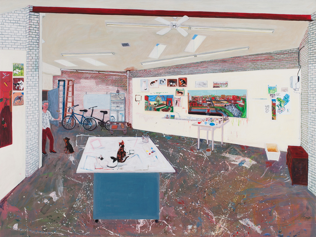 , 'Studio,' 2016, Locks Gallery