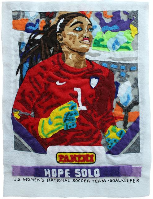, 'No Medicine Like Hope (Hope Solo),' 2016, Black Book Gallery