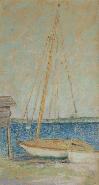 ", 'Study for ""Sailboats"",' ca. 1913, Debra Force Fine Art"