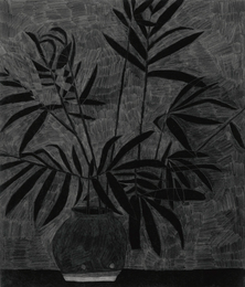 Jonas Wood, 'Untitled (Black 1),' 2008, Sotheby's: Contemporary Art Day Auction