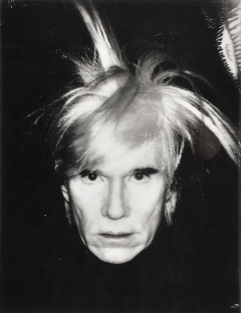 Andy Warhol, 'Self Portrait - Fright Wig', 1986, Mixed Media, Cellulose triacetate, Bertolami Fine Arts
