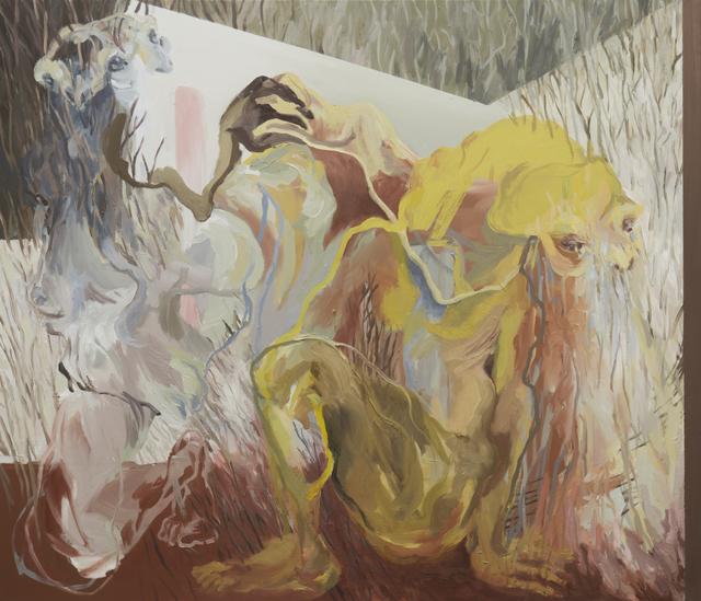 , 'Porcupine Couple I,' 2015, BERLIN BLUE art