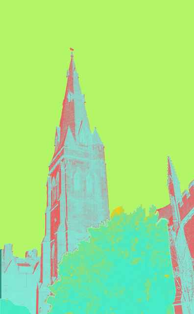 , 'Church, Yellow,' 2017, E-Moderne Gallerie