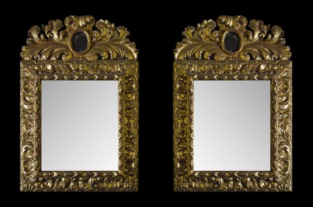 , 'Par de espejos barrocos,' , Mario Uvence