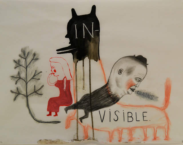 , ' Invisible Chains,' 2016, Koplin Del Rio