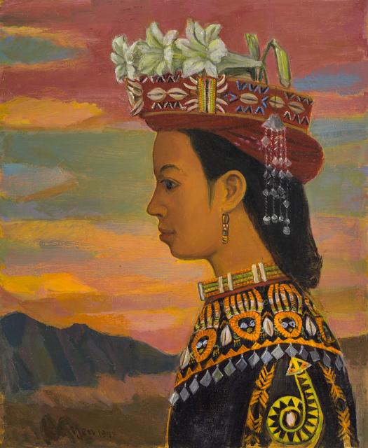 , 'An Aboriginal Girl Dresses in Her Splendid Attire,' 1978, Liang Gallery