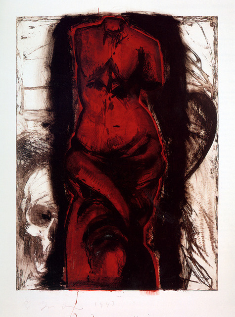 , 'Woman on Fire in Vienna,' 1993, Galerie de Bellefeuille