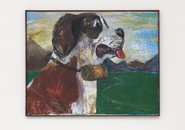 , 'Self Portrait As A St. Bernard (worried),' 2017, PRAZ-DELAVALLADE
