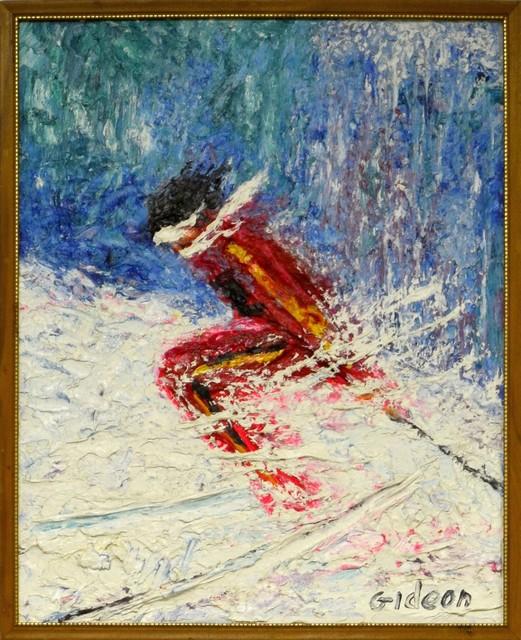 , 'Skier Blue Sky,' , Venvi Art Gallery